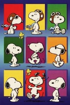 The many faces of Snoopy! Snoopy Love, Snoopy E Woodstock, Charlie Brown Cafe, Charlie Brown Und Snoopy, Snoopy Tattoo, Snoopy Comics, Peanuts Cartoon, Peanuts Snoopy, Snoopy Wallpaper