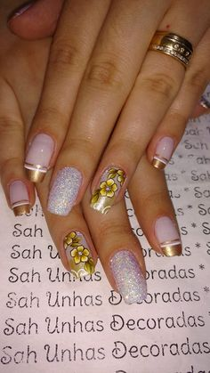 26 Ideias de Unhas decoradas Francesinhas Pretty Toe Nails, Pretty Toes, Gorgeous Nails, Seasonal Nails, Finger Nail Art, Pedicure, Nail Colors, Nail Art Designs, Beauty