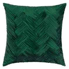 Valeda Pillow 18 from Z Gallerie Living Room Green, Bedroom Green, Pillow Fabric, Bed Pillows, Decor Pillows, Apartment Makeover, Pillow Inspiration, Affordable Modern Furniture, Textiles