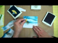 Stampin' Up! Stamping Technique: Sponging Snowbanks! - YouTube