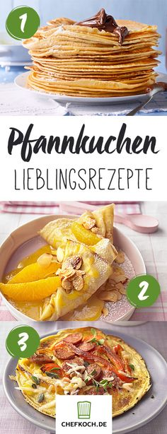 Pfannkuchen, Crêpe und Co – herrliche Ideen & Gelingtipps (Nutella Pancake For One) Nutella Pancakes, Crepes And Waffles, Pancakes For One, Pizza Recipes, I Foods, Sweet Recipes, Cooking Tips, Breakfast Recipes, Bakery