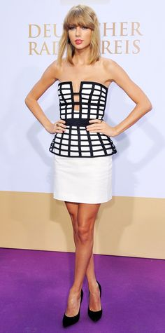 Look of the Day - September 5, 2014 - Taylor Swift in Sass & Bide from #InStyle