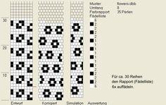 Schlauchketten häkeln - Musterbibliothek: flowers