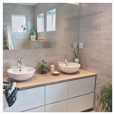This is terrific Cred: @ingerliselille #kvikkitchen #kvik #bathroom…