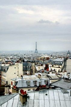 Toits de Paris Tour Eiffel...