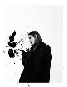 Sere Rivérs Cooperation with Marius Knieling for Papercut Magazine  Model: Sofia Tsakiridu