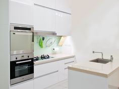 黑白經典廚具/系統櫥櫃