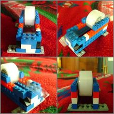 tape-dispenser Upcycled Crafts, Repurposed Items, Cool Minecraft Houses, Minecraft Crafts, Minecraft Skins, Minecraft Buildings, Lego Bedroom, Kids Bedroom Furniture, Bedroom Kids