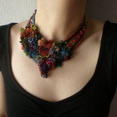 Joias de Crochê por Irregular Expressions - Crochet Jewelry by Irregular Expressions - Gosto Disto!