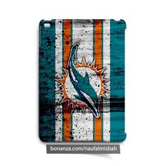 Miami Dolphins Paints iPad Air Mini 2 3 4 Case Cover