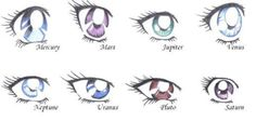sailor's eyes