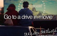 Before I die Bucket list bucket-list go to a drive in movie - [✔] Bucket List Life, Life List, Summer Bucket Lists, Life Goals, Relationship Goals, Bucket List Before I Die, Never Stop Dreaming, Just Dream, Thing 1
