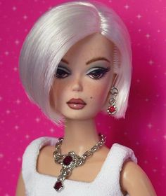 OOAK repaint Silkstone / Barbie doll art. A Bijou Doll by France Briere - Google Search