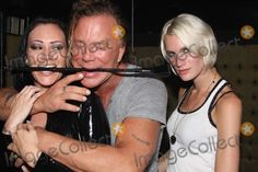 Miami Beach, FL 6-13-2008 Mickey Rourke and Keira Smith at a fetish party at Twist Nightclub. Digital Photo by JR Davis-PHOTOlink.net