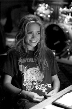 An Olsen twin.