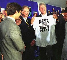 The Morning After NAFTA – November 18, 1993 – Past Daily – . . . or click on the link here for Audio Player – CBS World News Roundup – November 18, 1993 – Gordon Skene Sound Collection As the newscast so ably put it – a month earlier, everyone on Capitol Hill assumed NAFTA was dead. But on this November 18th in... #anarchafeminism #anarchismwithoutadjectives #anarchoblogsaggregator