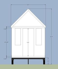 "From ""road limits for tiny houses on trailers"" tiny house measurements"