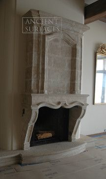 Stone fireplace a house is not a home pinterest for Mediterranean fireplace designs