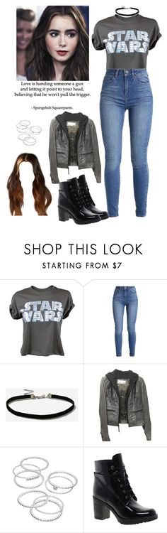 """""""Lena Kane / Red Mist"""" by demiwitch-of-mischief ❤ liked on Polyvore featuring Topshop, Love Quotes Scarves, Andrew Marc, LC Lauren Conrad and ASOS"""