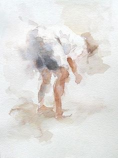 Anne Petty  ethereal watercolor by msochic #watercolorarts
