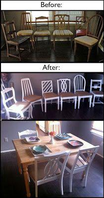 JovialJones: DIY Dining Chair Makeover
