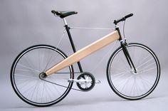 Como não poderia faltar um exemplo do uso de estruturas tensegrities em um quadro de bicicleta.