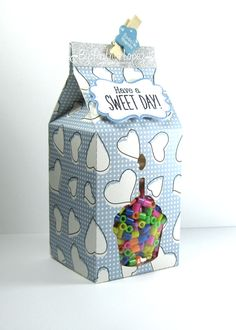 My hobby My Art: Birthday Milk Carton