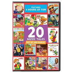 this 20 music tales get up and dance dvd would be great for those kids who love pbs kids its already been released so make sure to pick up your copy