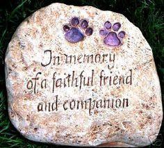 In Memory Pet Memorial Concrete Mold Plaster Mold Monument Casting Plastic Mold…