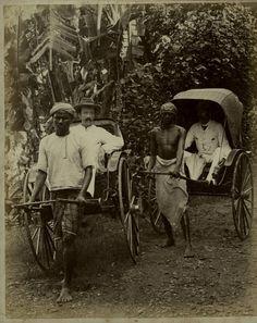 sri lanka rickshaw 1890's