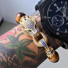 Dragon Head Bracelet With Tigers Eye Stone Beads Couple Bracelets, Bracelets For Men, Fashion Bracelets, Beaded Bracelets, Bracelet Men, Dragon Bracelet, Tiger Head, Eye Stone, Strand Bracelet