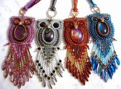 Smartina´s Glasperlereien: Eulen für die Mädls owl