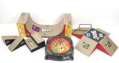 Tech Deck Flick Trix Lot Skatepark BMX Bike Halfpipe Rails Ramps Tony Hawk | eBay