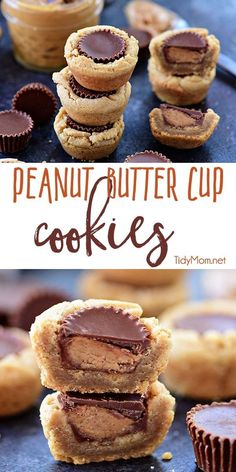 Lower Excess Fat Rooster Recipes That Basically Prime If You Like Peanut Butter, Youre Going To Love These Peanut Butter Cup Cookies.A Peanut Butter Cookie Cup With A Chocolate Covered Peanut Butter Cup In The Middle A Favorite Treat Any Time Of Year, And Peanut Butter Blossom Cookies, Best Peanut Butter, Peanut Butter Cookie Recipe, Peanut Butter Recipes, Peanut Butter Cups, Cookie Recipes, Dessert Recipes, Peanut Butter Thumbprint Cookies, Cashew Butter