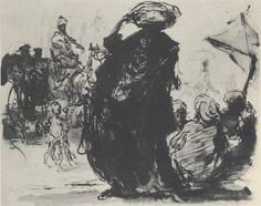 Feliks Topolski traveled the world, illustrating the great places and events of his day. Born in Poland, Topolski set out for ad. Drawing Sketches, Drawings, Great Places, Sculptures, Illustration Art, Concept, Ink, Image, Paintings