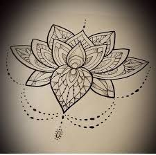Image result for mandala flower tattoo