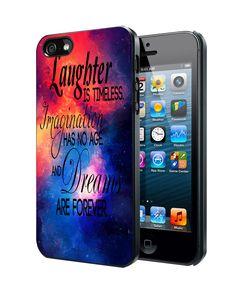 Walt Disney quote nebula iPhone 4 4S 5 5S 5C Case