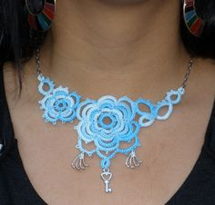 Needle Tatting Instructions | ... was made entirely with needle tatting which used thread 20 and needle