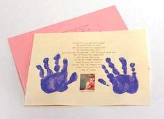 Handprint Poem Craft: Handprint Crafts for Kids Fathers Day Crafts, Valentine Day Crafts, Holiday Crafts, Holiday Fun, Valentines, Holiday Activities, Toddler Activities, Kids Crafts, Crafts To Do
