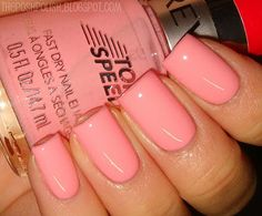 nails.quenalbertini: Revlon Peach Lingerie   The Posh Polish