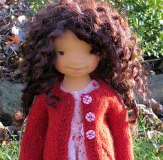 Waldorf doll Lela 19'' Waldorf inspired doll