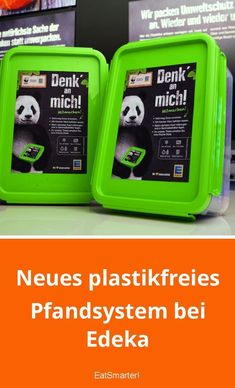 Alica saved to ideenNeues plastikfreies Pfandsystem bei Edeka - Sustainable Energy, Sustainable Living, Natural Energy Sources, Recycling Information, Eco Friendly Cleaning Products, Energy Resources, Diy Kitchen Storage, Tips Belleza, Diy Hacks