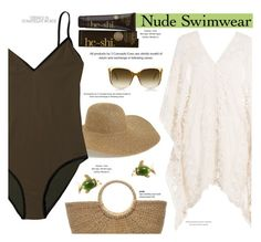 """""""beach style"""" by paperdollsq ❤ liked on Polyvore featuring Tildon, Steven Alan, He-Shi, Eberjey and StyleNanda"""