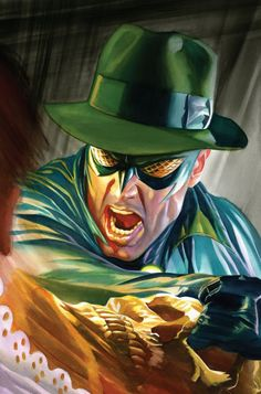 Green Hornet # 14 Cover Alex Ross, in David Holden's David Holden's Art Gallery Comic Art Gallery Room Comic Book Artists, Comic Book Characters, Comic Artist, Comic Character, Comic Books Art, Fictional Characters, Alex Ross, Bruce Lee, Jim Lee