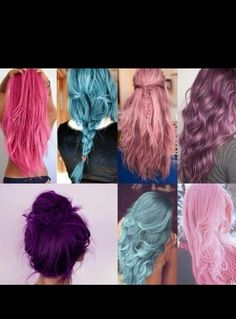 Awesome hair colors!!