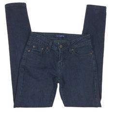 5e16d451 Levis 535 Leggings Jeggings Jeans Juniors Women Size 1S Cotton Stretch Dark  Wash #Levis Leggings