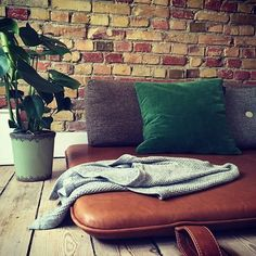 Daybed heaven #them #bythornam #daybed #shapeityourway #danishdesign #madeindenmark #handmade #leather #furniture #interiordesign #design #slowliving #lounge #lounging #hygge #chill #relax