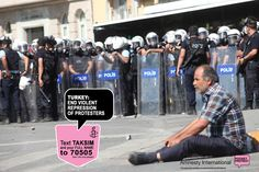 Stand with those protesting in Turkey and #Taksim Square