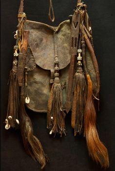 Tuareg antique bag, Mali