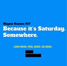 Saturday dressing: Look Good. Feel Good. And do good with every purchase.